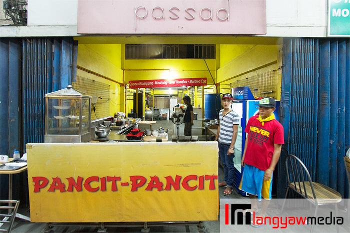 Pancit Pancit up close