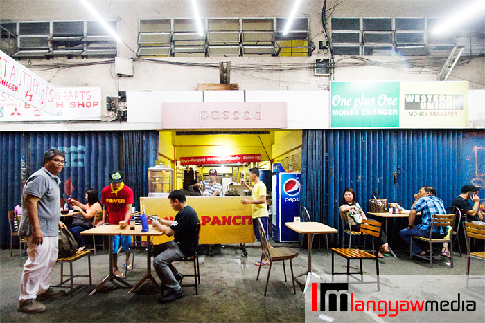 Pancit pancit is a steel workshop by day, asian food resto by night!