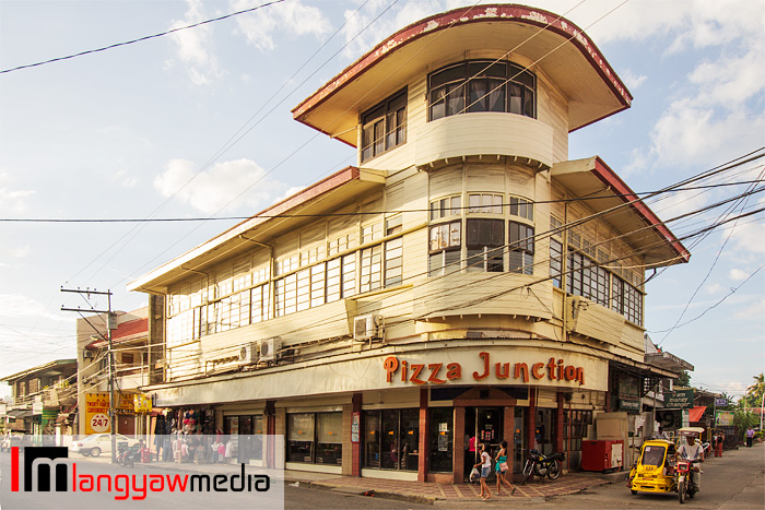 The heritage house where Pizza Junction is