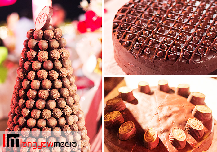 Swiss chocolates and chocolate cakes from The Chocolate Chamber