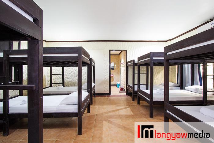The Barkadahan room is a dorm type accommodation