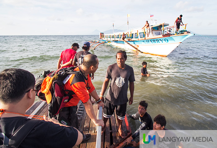Sabang Port to Caramoan