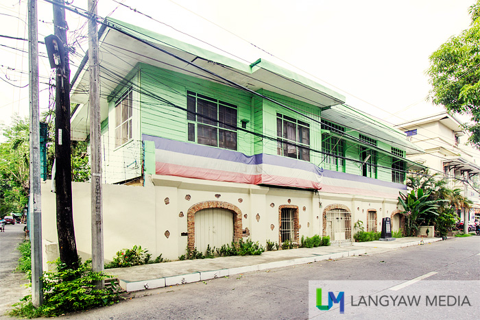 The ancestral house of the country's 1952 Senate President Quintin Paredes