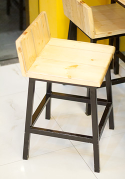 Cute wooden chairs