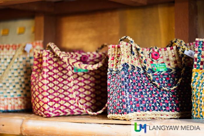 Handmade bags using native materials
