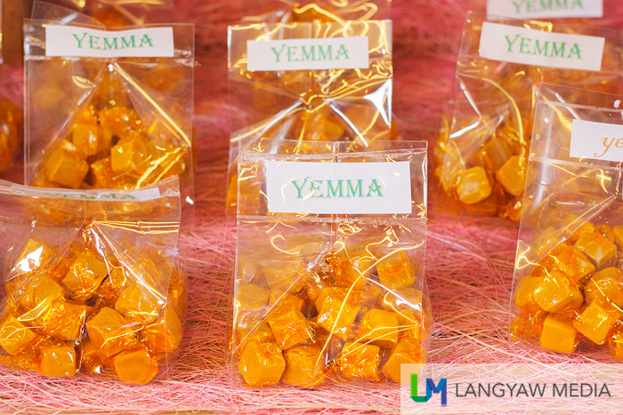 Yema in packs