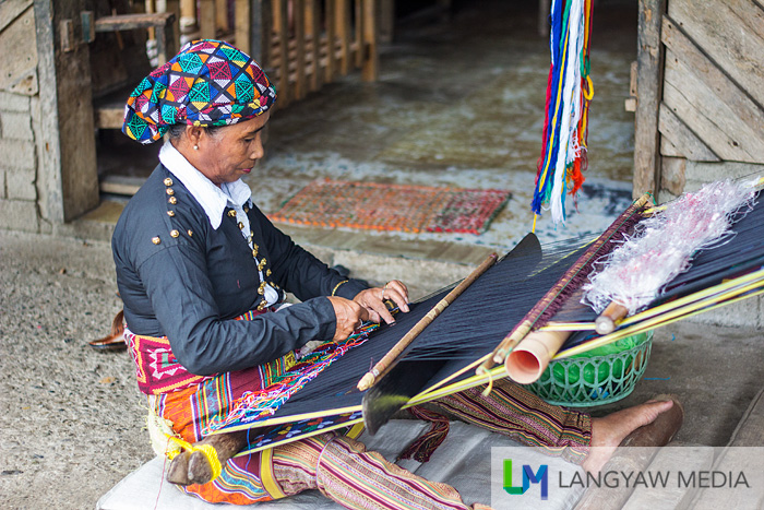 Yakan weaving demonstatration