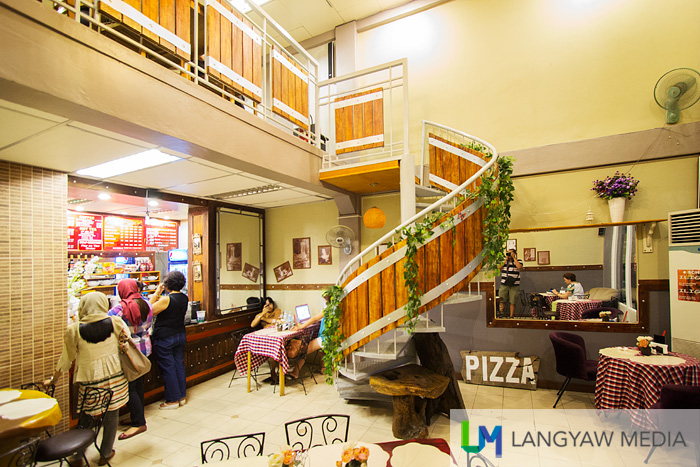 The interior of the Iliganon sa Tibanga branch