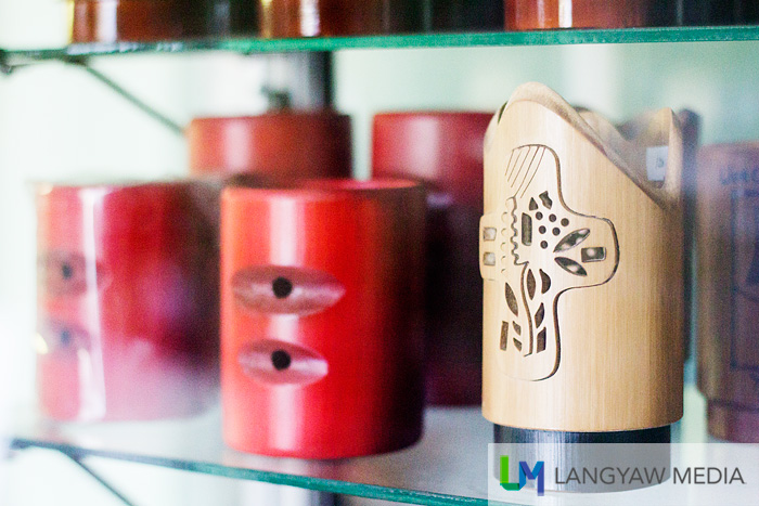 Bamboo containers in different designs