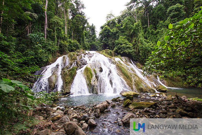 Pulacan Falls in Labangan, Zamboanga del Sur is quite accessible, just located at the side of a sloping highway