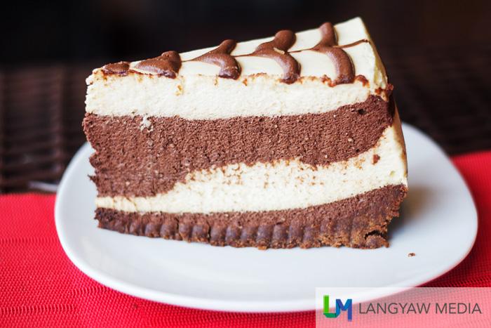 Cake dessert at Kape Zambo