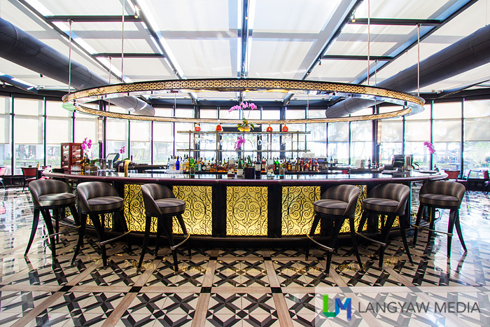 La Veranda is a dining space adjunct to Spiral and has outdoor areas too
