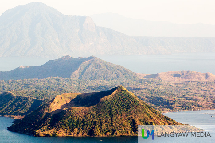 Spectacular view of Binintiniang Malaki, Taal's inactive cone