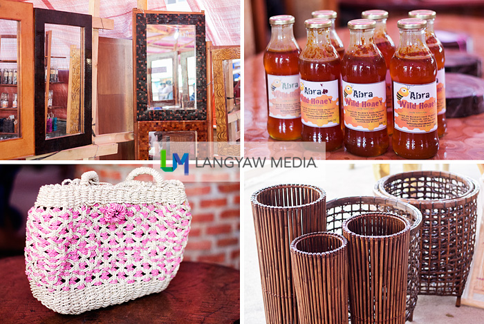 Honey and handicrafts made by Abrenians from readily available materials