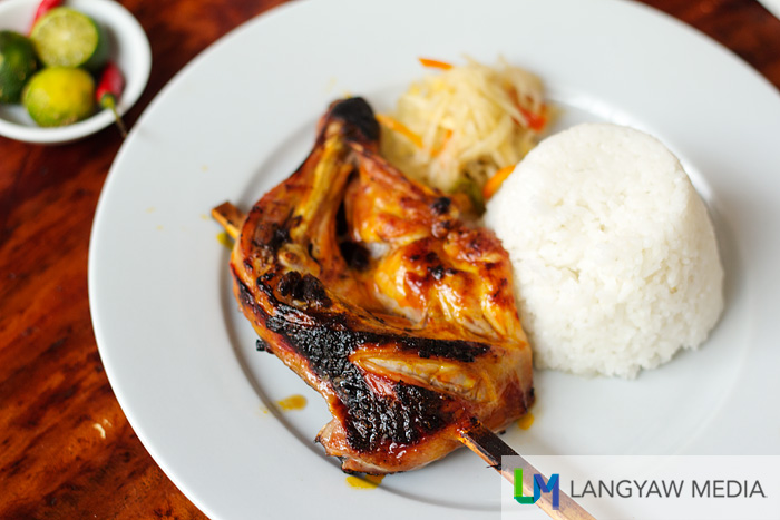 The must eat Bacolod chicken inasal which is tender, juicy and just delicious