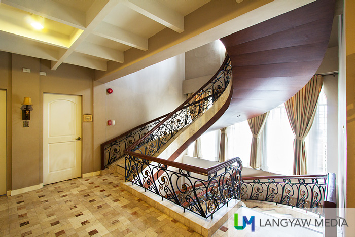Second floor and staircase