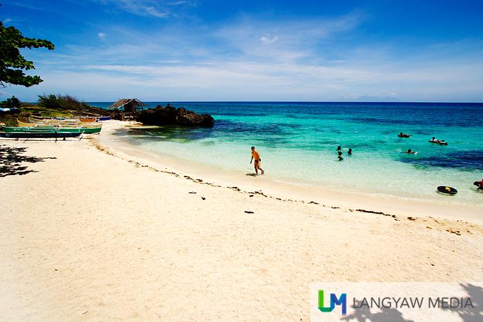 Bitoon Beach in Anda, Bohol