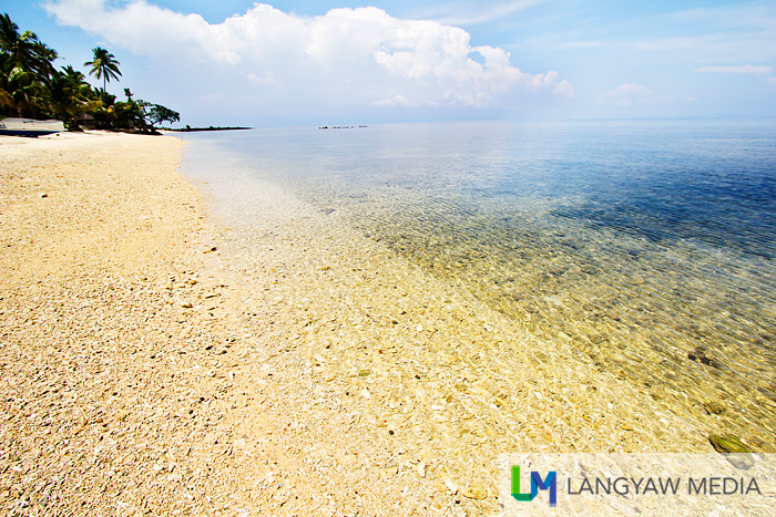 Tranquil Calugusan Beach in Lamitan, Basilan