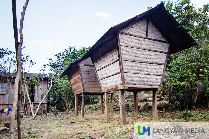 Agamang are rice granaries and this particular architecture is typical of Itneg tribe