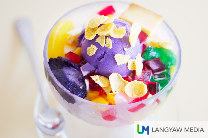 Ice Castle's halo halo is comfort food