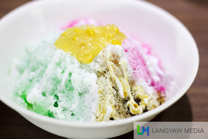 Chop Chop Food Centre's iced kacang