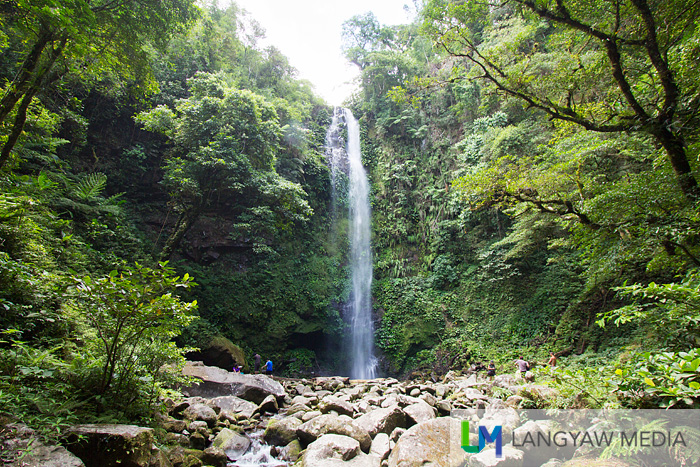 Balang Falls popularly known also as Shower Falls