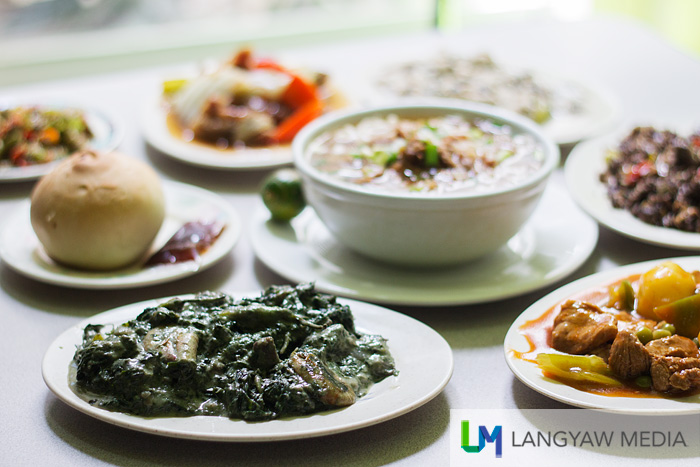 Known Bicol cuisine available at the restaurant