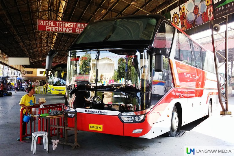 The new buses of Rural Transit (RTMI) that serves the CDO-DVO and CDO-ILI routes