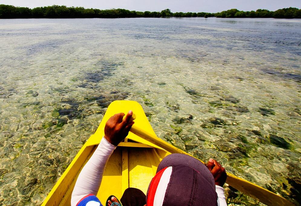 Sta Cruz lagoon