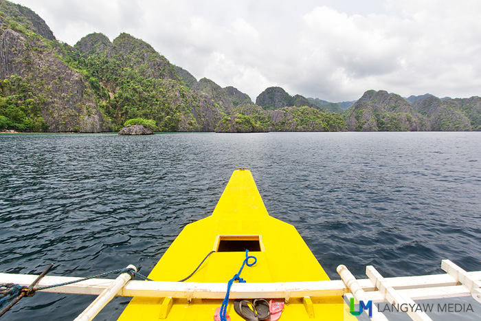 Off to an adventure in Coron