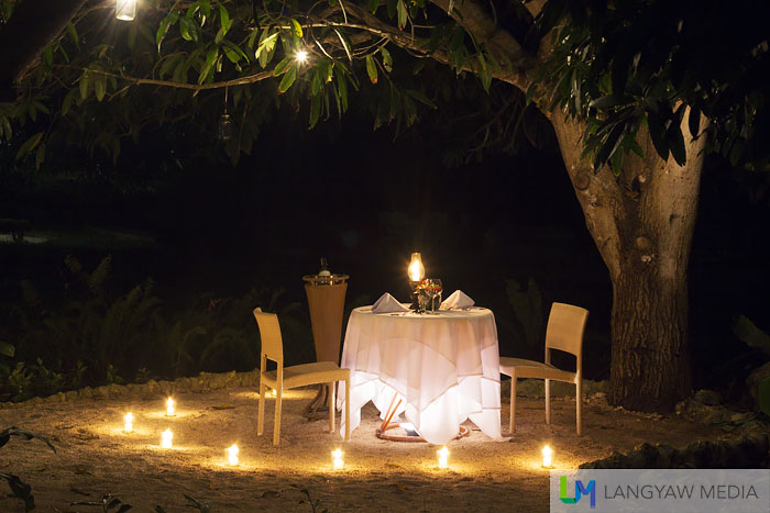How about popping that proposal under the mango tree?