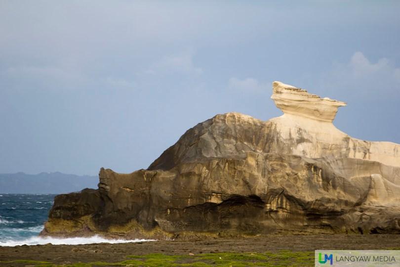 Late afternoon at the Kapurpurawan Rock Formation in Burgos, Ilocos Norte