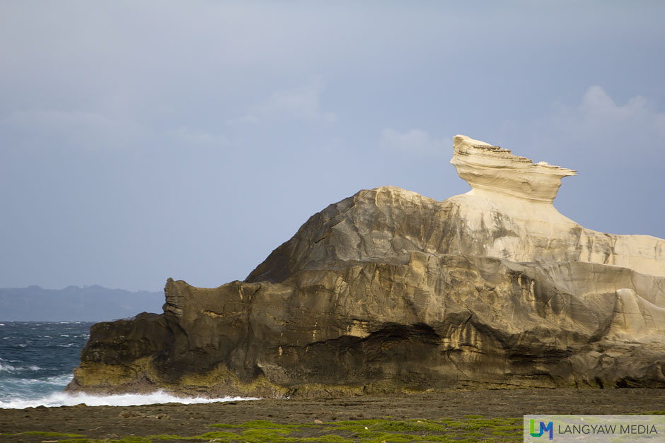 Late afternoon at the Kapurpurawan Rock Formation in Burgos, Ilocos Norte
