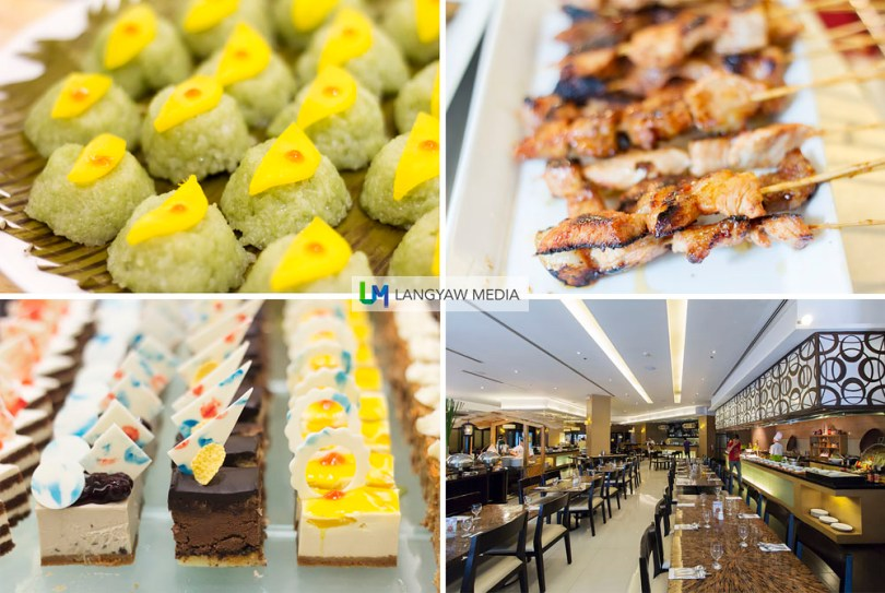 Puso Bistro & Bar's buffet has a good selection of desserts, barbecued meat, main course, japanese, salads and fruits, appetizers and much more.