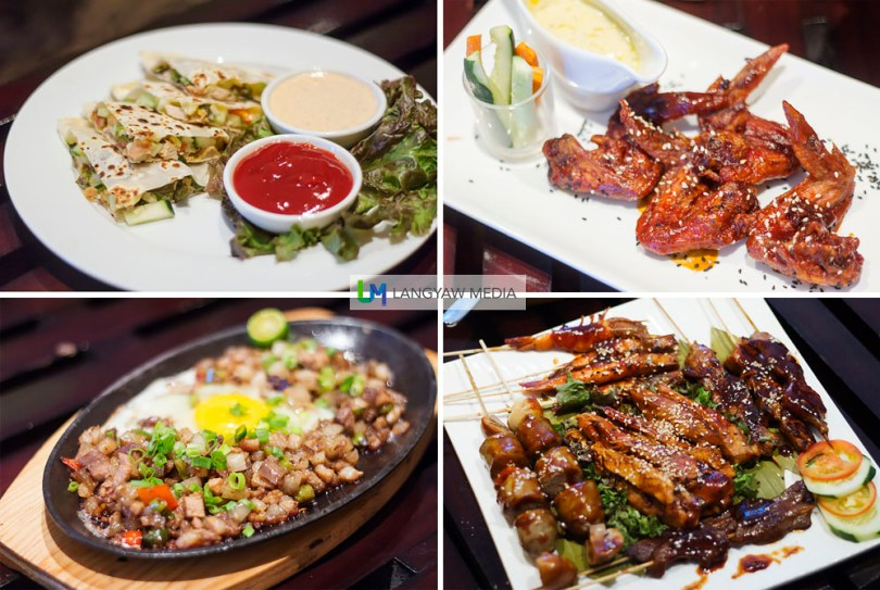 Quest Hotel's bar chow and finger food is diverse yet filling. Although the sisig can still be improved, the barbecue platter was just so good to miss. Meat is tender and flavorful while I enjoyed the wings. The blue cheese dip was the perfect accompaniment to the burgers!