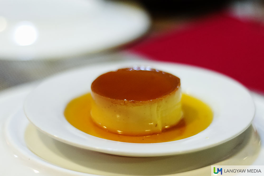 Leche flan with rhum (Calle Barlin)