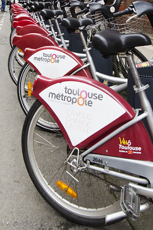 Electric bikes for use around Toulouse