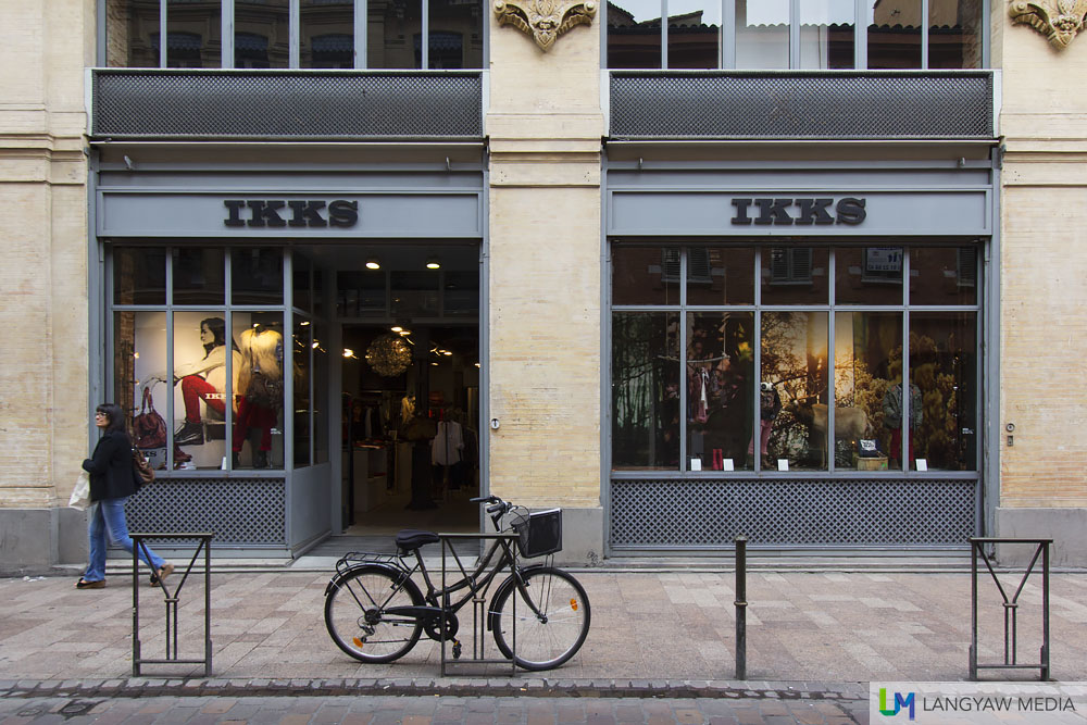 IKKS shopfront in one of the streets of the city