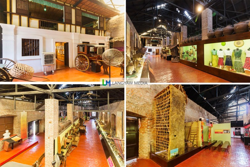 Artifacts inside the Museo attests to the traditional way of life of the industrious Ilocano. The exhibit shows agricultural life that includes implements used in farming and the preparation of tobacco, fishing, clothing and so much more
