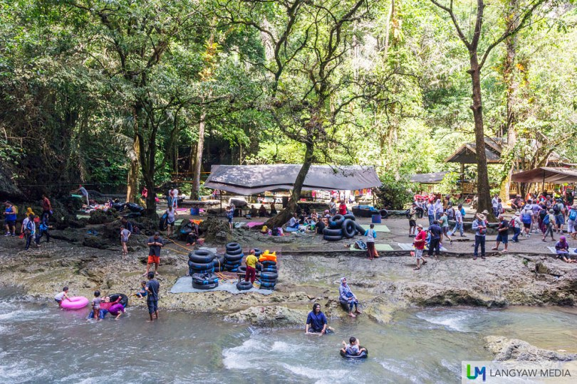 Weekends can get crowded with locals and a few foreigners enjoying the national park