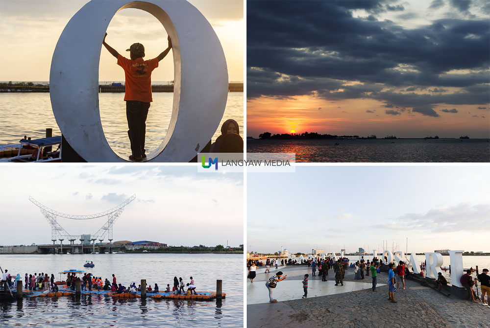 Pantai Losari is a popular hang out spot for locals to catch the sunset. Explore the area including the floating mosque or have pisang epe (pressed bananas) at one of the open air dining areas adjacent to the park