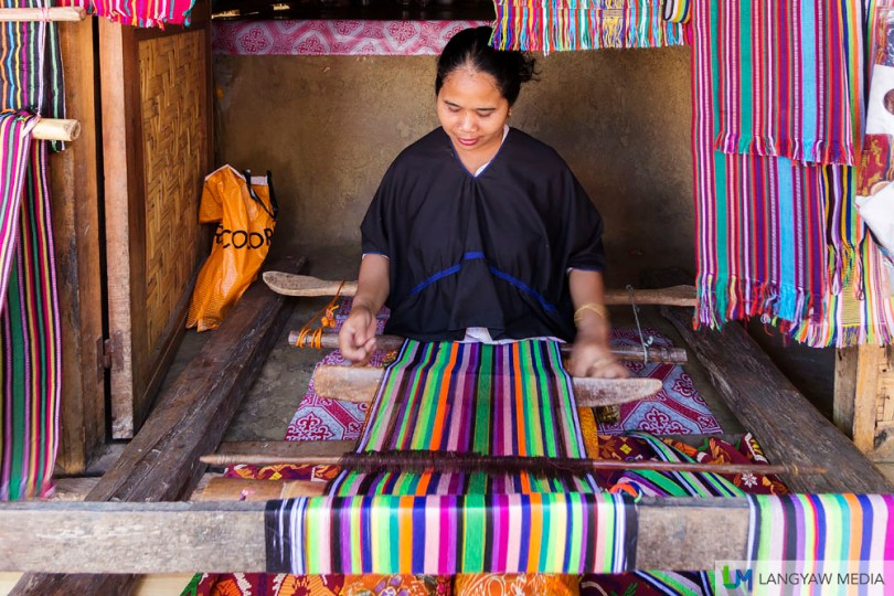 Weaving is one of the important livelihood of the Sasak