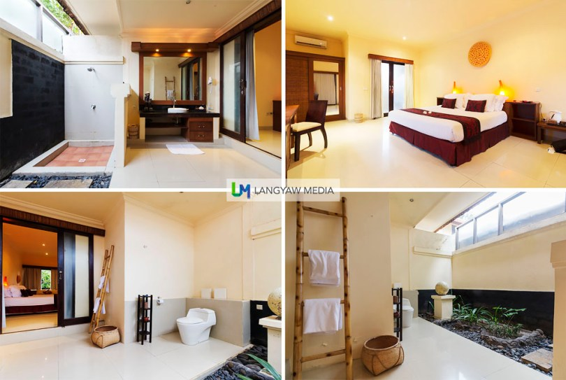 My very spacious room at Villa Ombak