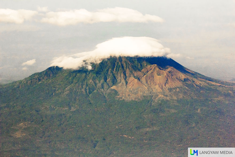 Gunung Lamongan in Ranuyoso is a smaller volcano