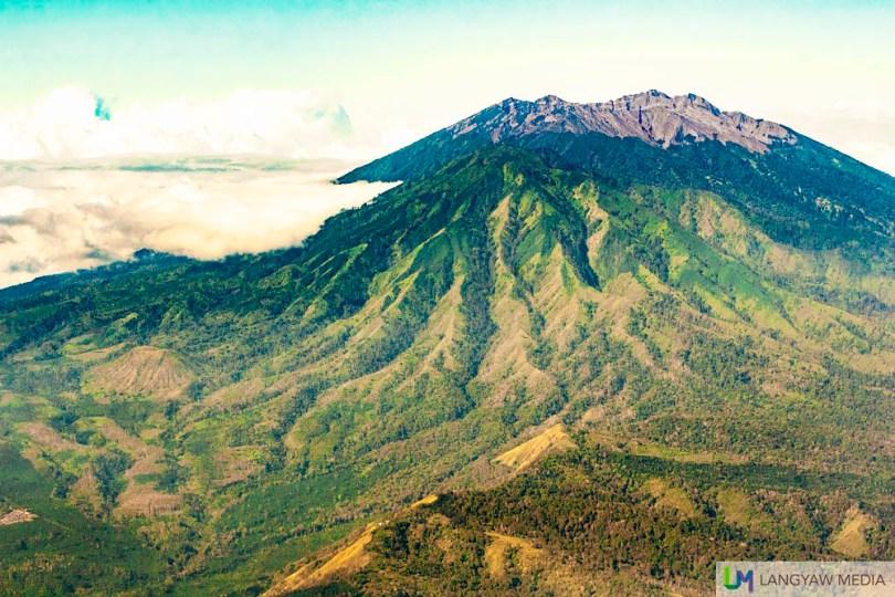 Gunung Raung which is just near the Ijen Caldera