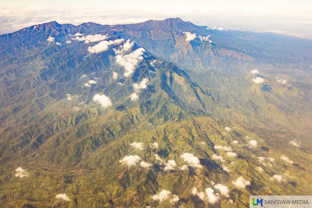 Gunung Argapura between Ijen Caldera and Gunung Bromo