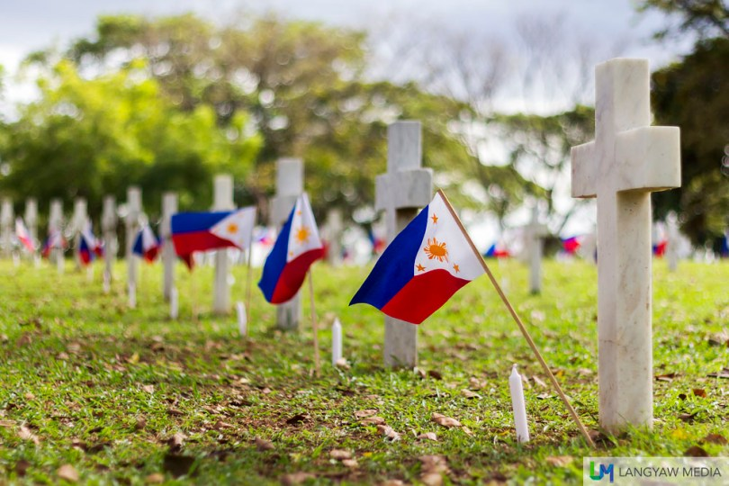 The remains of the Philippines brave and heroes, from soldiers to notable and respected Filipinos