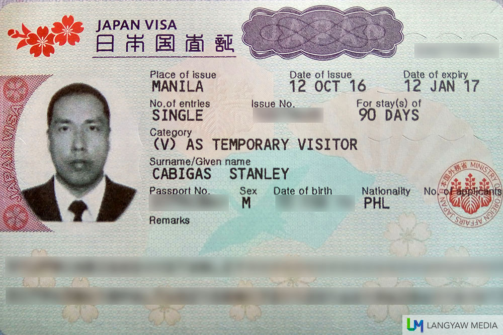 Japan business visa