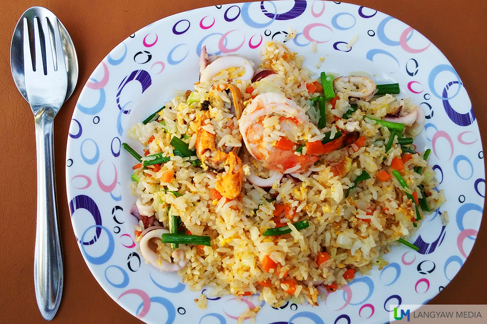 I had this tasty fried rice at one of the restaurants
