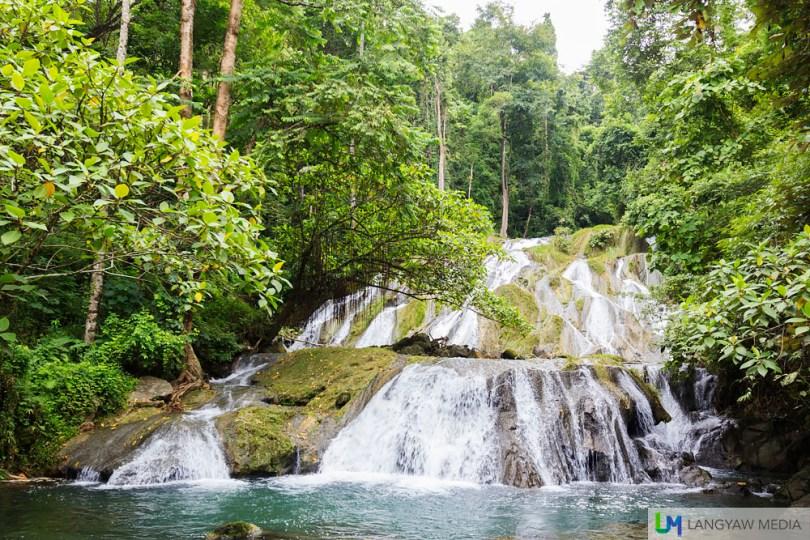Pulacan Falls in Labangan, Zamboanga del Sur